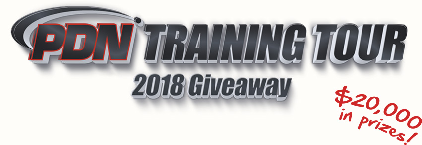 2018 PDN Training Tour Giveaway
